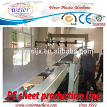 1200mm width of PP PE sheet production machine