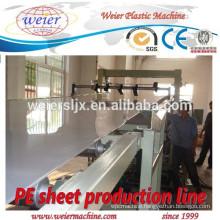 1200mm width of PP PE sheet production machine