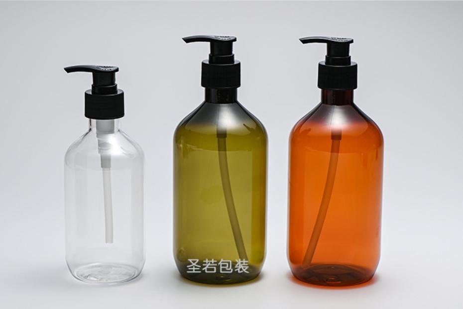 Empty Portable Plastic Pet Bottle