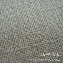 Tissu de sofa de fibre de polyester cationique