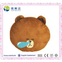 Cute Sleeping Snot urso travesseiro brinquedo de pelúcia