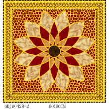 Elegante Blume Gild Bodenfliese mit 1600X1600mm (BDJ60428-2)