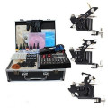 Shader and Liner Three Guns Tattoo Kit with Aluminum Carrying Case