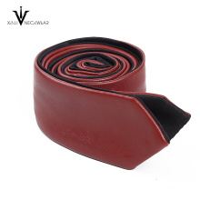 New Fashion PU Men Leather Tie