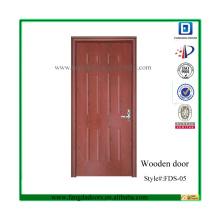 Дешевые нутряные твердые деревянные двери