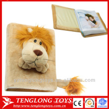 Novelty plush cover photo albums