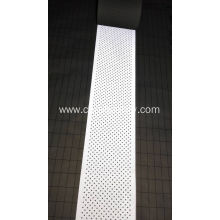 Breathable grey flame retardant reflective cloth