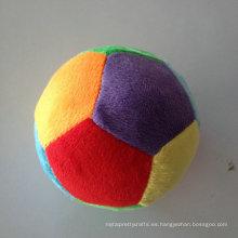 Niños juguete suave de peluche relleno pelotas de juguete de felpa redonda