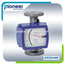 Débitmètre tube tube en métal Krohne H250