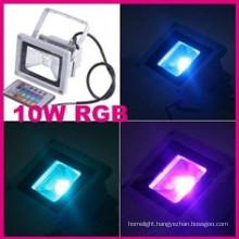 Waterproof IP65 Floodlight 10W RGB LED (EW_FLRGB10W)
