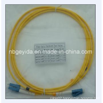 3.0 LC-LC Sm Duplex Fiber Optic Patch Cord