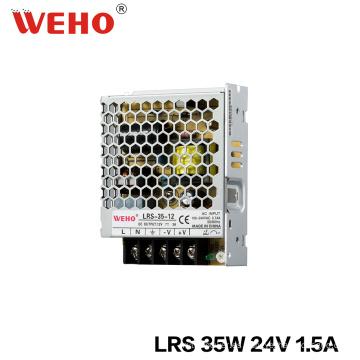 Fuente de alimentación delgada de 30m m SMPS 35V 24V LED