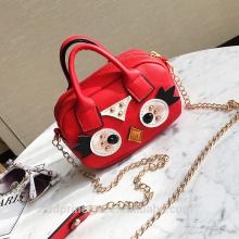 sacs à bandoulière unique bande dessinée d'été pour les filles sac de transport mignon main rouge