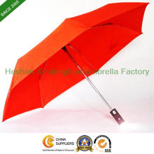 7 Rippen Qualität kompakt klappbare LED Regenschirm (FU-3821ZL)