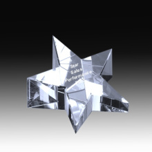 3D laser crystal paper weight