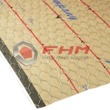 "Galvanized Hexagonal Stucco Netting 36"" x 150'"