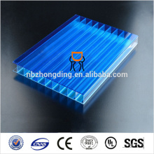 4mm twin wall smoked polycarbonate sheet
