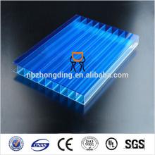 4mm twin wall smoked polycarbonate sheet