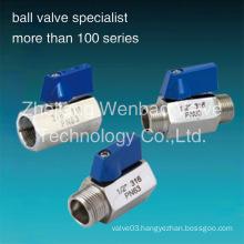 Stainless Steel Mini Ball Valve Pn63