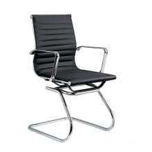 Office Metal Leather Hotel Arm Lowgettingfore Guest Chair (E13)