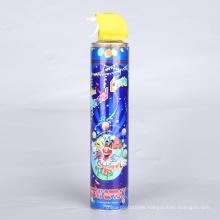 Spray de nieve de espuma para decoración de fiesta de Navidad