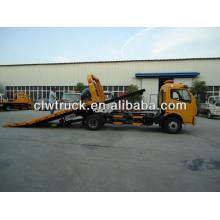 street wrecker power engineering vehicle, Dongfeng 4x2 wrecker truck, wrecker, wrecker truck, dongfeng wrecker truck, tow truck