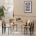 Factory Price Jean Prouve Standard Wooden Restaurant Chair (SP-BC336)