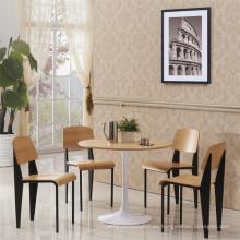Precio de fábrica Jean Prouve silla de madera estándar del restaurante (SP-BC336)