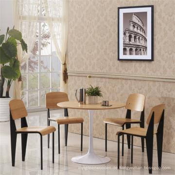 Fabrik Preis Jean Prouve Standard Holz Restaurant Stuhl (SP-BC336)