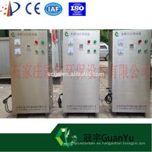 3G 5G 7G 15G pequeño generador de ozono con ajuste de concentración de ozono