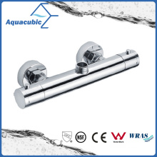 Bathroom Shower Brass Chromed Anti-Scald Thermostatic Tap (AF4120-7)