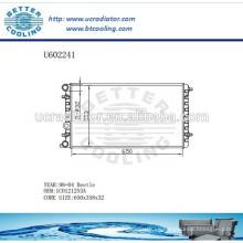 Radiador de aluminio para VOLKSWAGEN Beetle 98-04 1C0121253A