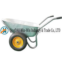 Wheelbarrow Wb8608 roda roda de borracha
