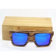 2016 lunettes de soleil en bois polarisées faites à la main