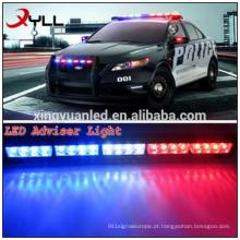 24 '' barra de luz conduzida ambarina clara do conselheiro do tráfego do reboque da emergência do perigo da emergência