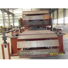 Línea de producción de panel de sandwich de Apilador de formatos automático lana Mineral