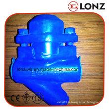 Nouveau purgeur de vapeur de type bimétallique à filetage / vis de type Bk- Y