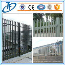 Hochwertiger Standard Palisade Zaun zum Verkauf Made in Anping