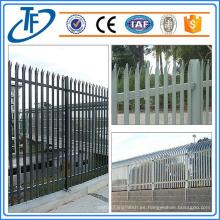 Valla de Palisade estándar de calidad superior usada para la venta hecha en Anping