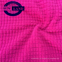 Langarmhemd Herbst Hoodie Tuch aus 100% Polyester Dropneedle Waffel-Look aus gebürstetem Polarfleece