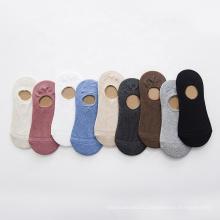 Женские носки с низким вырезом и нескользящей лодочкой