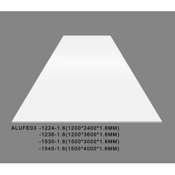 Gloss White Aluminium Sheet