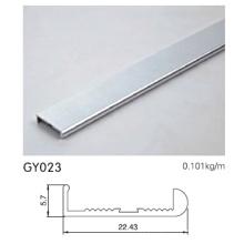 Perfil de alumínio do quadro para armário de cozinha