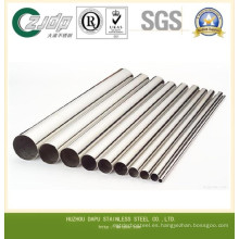 TP304 Diferentes diámetros de tubo de acero inoxidable sin costura