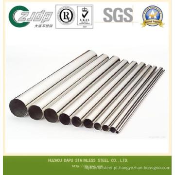 TP304 diâmetro diferente tubo de aço inoxidável sem costura