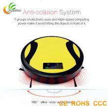 Home aspirador com controle remoto vácuo robô