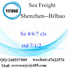 Shenzhen Port LCL Consolidation to Bilbao