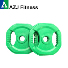 2.5KG Rubber Coated Iron Weight Plate