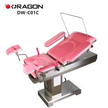 DW-C01C Gynecological Birthing cama de la mesa de operaciones