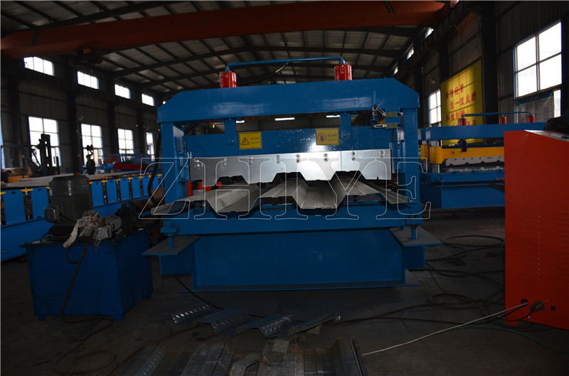 Lantai Decking Sheet Rolling Machine
